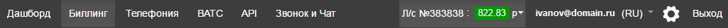 StartPage - ManagementMenu
